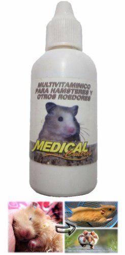Multivitaminico Para Hamster Y Roedores 28ml Evita Diarrea