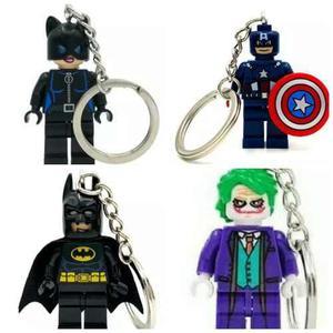 Paquete 12 Llaveros Tipo Lego Envío Y Meses Sin Intereses