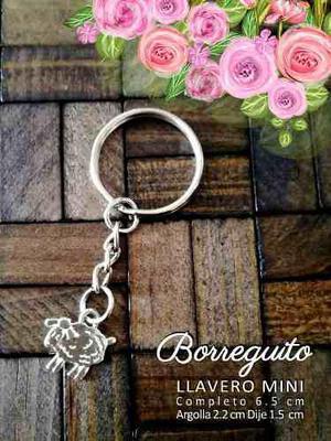 Recuerdos Baby Shower Bautizo Borreguito Llavero Mini