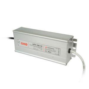 Transformador Fuente De Poder Para Led 100w 12v Uso Exterior
