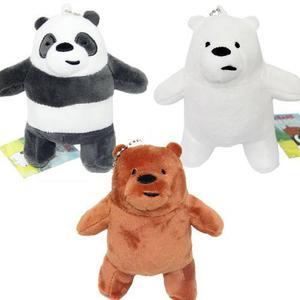 We Bare Bears 3 Llavero Envio Gratis De Peluche Polar Panda