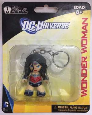 Wonder Woman Mujer Dc Universe Mini Mezitz Mez-itz Llavero