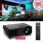 6000 Lumens Full Hd 1080p Led Lcd Vga Hdmi Tv Home Theater P