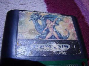 Alisia Dragoon Sega Genesis Nes,snes,n64,ps3,psp,xbox,cv,ret