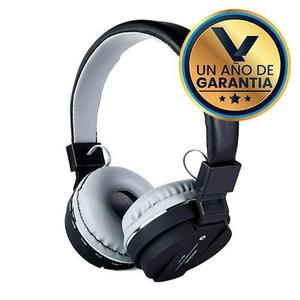 Audífonos Diadema Micrófono Bluetooth Negro:: Virtual Zone