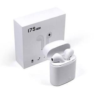 Audífonos Tipo Airpods Hbq I7s Tws Para Iphone (compucel)