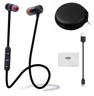 Audifonos Bluetooth Magneticos Lote 2 Pzas + Estuche