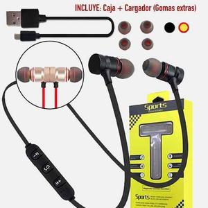 Audifonos Magneticos Bluetooth Inalámbricos Con Microfono