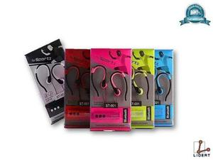 Audifonos Sports Bluetooth Wireless St-001 Varios Colores