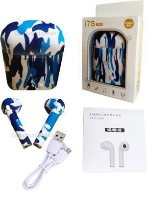 Audifonos Tipo Airpods Bluetooth Camu Musica Y Llamadas.
