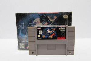 Batman Forever Con Caja Snes Consolas De Luigi