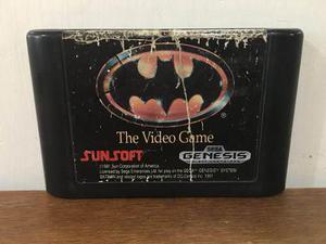 Batman The Video Game Para Sega Genesis En Buen Estado