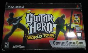 Caja Para Guitar Hero World Tour Ps2 Playstation 2 Slim Fat