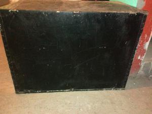Caja de madera con tapa grande