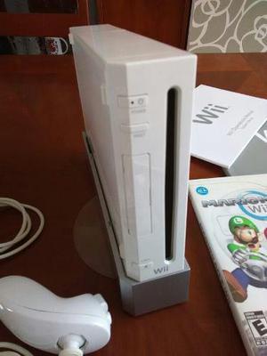 Consola Nintendo Wii Blanco. 2 Controles Y 1 Juego
