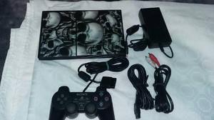 Consola Play Station 2 Slim Con 3 Juegos Originales