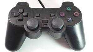 Control Play Station 2 Ps2 Dualshock Negro Excelente Calidad