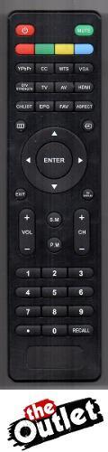 Control Remoto Para Tv Lcd Led Atvio, Speler, Tlk