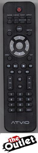 Control Remoto Tv Lcd Led Atvio O Makena