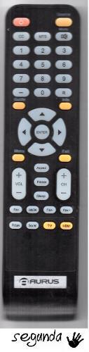 Control Remoto Tv Lcd Led Aurus
