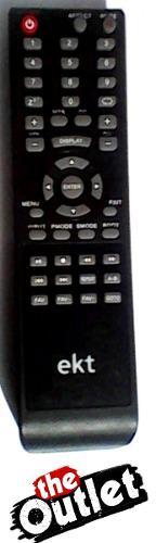 Control Remoto Tv Lcd Led Ekt