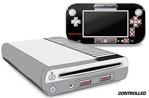 Diseñador De Piel Para Nintendo Wii U Consola Más Decalque