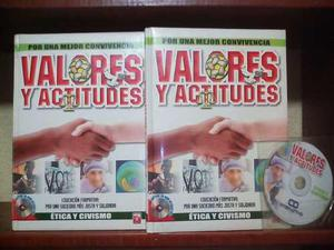 Enciclopedia Valores Y Actitudes 2 Vols + 1 Cd-rom