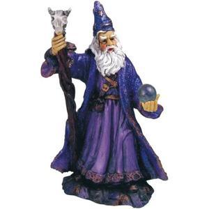 Figura De Mago Merlin Con Esfera Cristal Envío Gratis