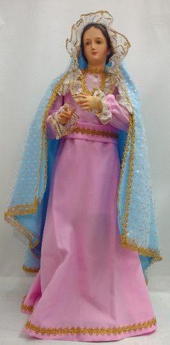 Figura Virgen Maria De Vestir 85 Cm