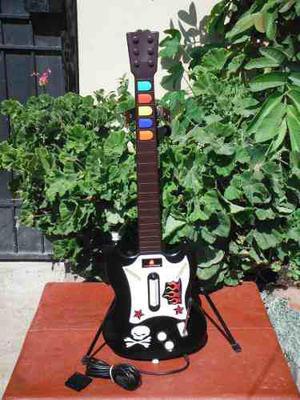 Guitarra Guitar Hero 1 Negra Para Ps2 (12)