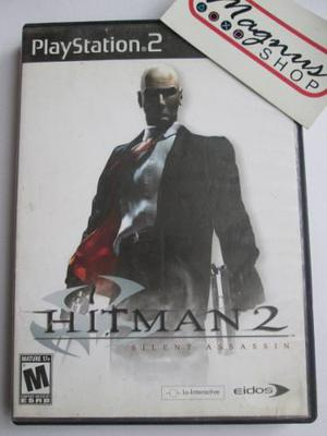 Hitman 2 Silent Assassin Playstation 2 Ps2 Completo Agent 47