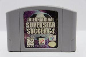 Internacional Super Star Soccer 64 N64 Consolas De Luigi