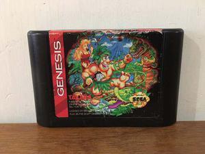 Joe & Mac Para Sega Genesis En Buen Estado