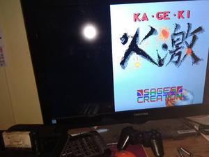 Kageki Fists Of Steel Sega Genesis Sages Creation