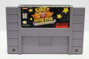 Kirby Super Star Snes Consolas De Luigi