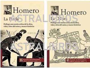 La Iliada Y La Odisea 2 Libros Originales Envio Gratis