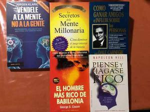 Libros Paquete Especial De 5 Envío Gratis