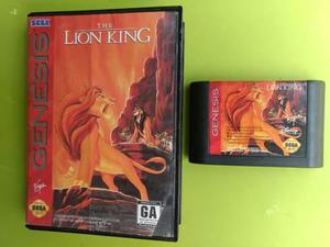 Lion King Rey Leon Sega Genesis Juego En Caja