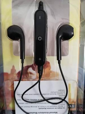 Lote 6 Audífonos Bluetooh Sports Estereo Con Microfono