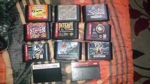 Lote De Juegos De Sega Genesis Y Master