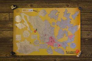 Mapa Para Rascar México / Scratch Map Of Mexico
