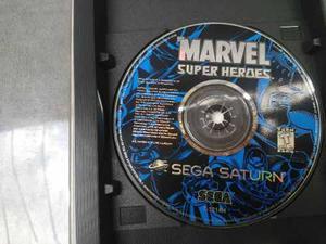Marvel Super Heroes Sega Saturno Solo Disco