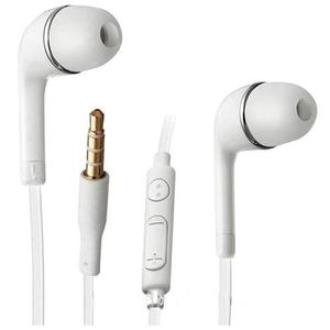 Mayoreo 100 Audifonos Universales 3.5mm J5 Blanco