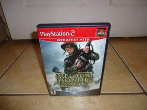 Medal Of Honor Frontline Playstation 2 Ps2 +++