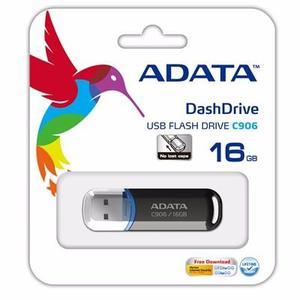 Memoria Usb 16gb Adata C906 Flash Drive 2.0 Negro/blanco
