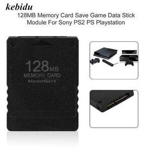 Memory Card Ps2 128 Mb Para Ps2 Slim O Fat Envio Gratis