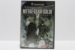 Metal Gear Solid The Twin Snakes Gamecube Consolas De Luigi