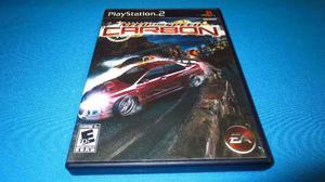 Need For Speed Carbon Ps2 *cd En Excelente Estado*