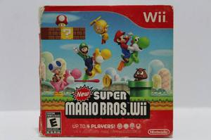 New Super Mario Bros Wii Caja De Carton Consolas De Luigi