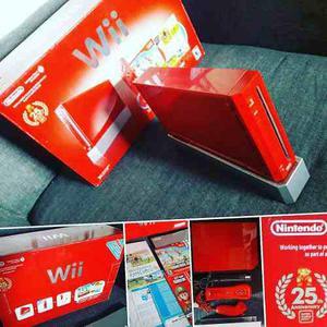 Nintendo Wii 25th Aniversario De Super Mario Bros